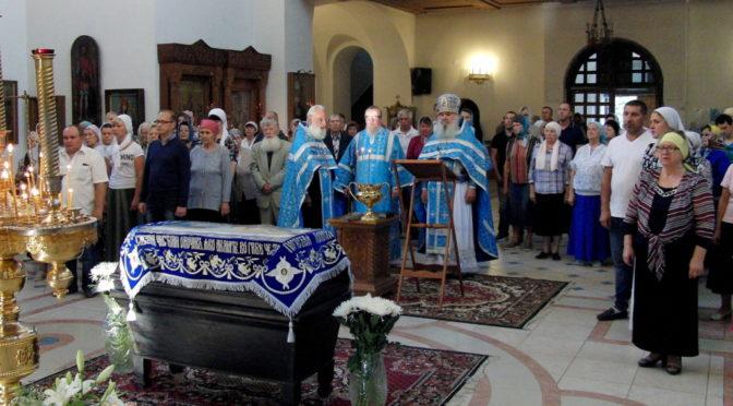 Празднование Успения Божией Матери в Свято-Троицком храме г. Балаково