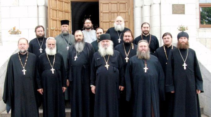 Соборное богослужение в Свято-Троицком храме г. Балаково