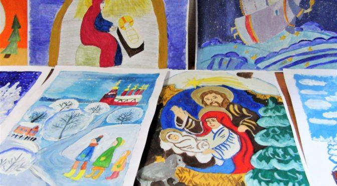 Подведены итоги конкурса рисунков «Вслед за Рождественской звездой»