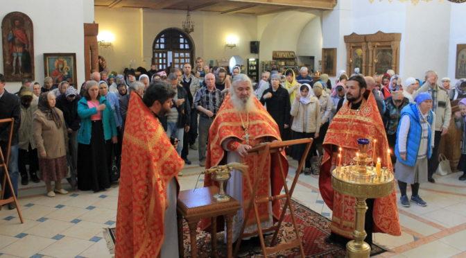 Богослужение в Свято-Троицком храме г. Балаково 13.05.2018